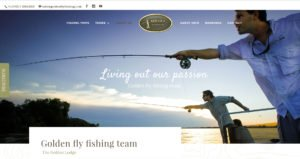 Golden fly fishing team