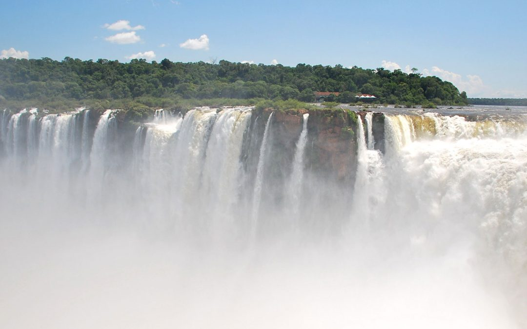 National Park Iguazu Waterfalls